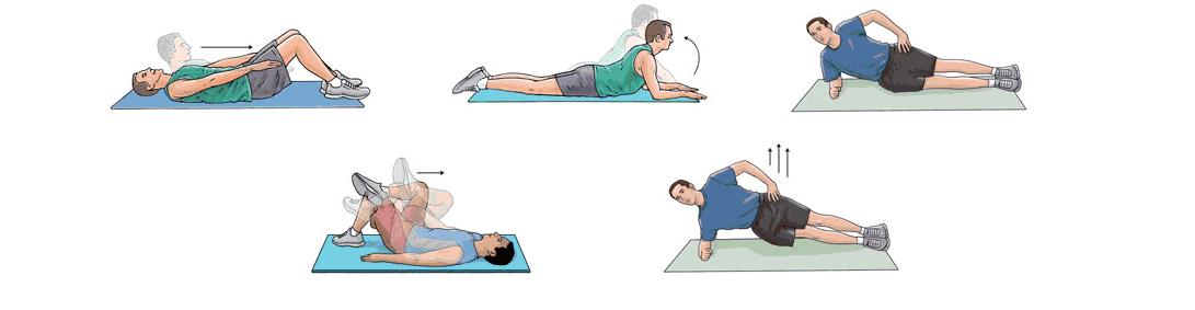 Лечебная физкультура при боли в спине