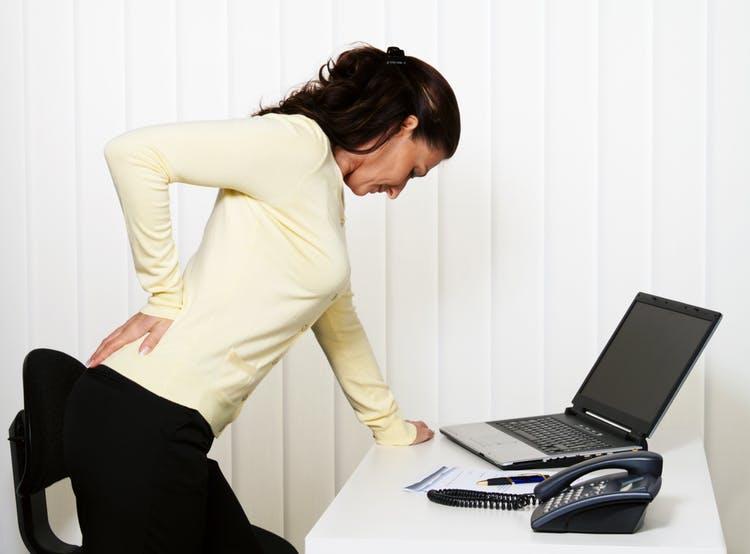 Боль в спине от гинекологии