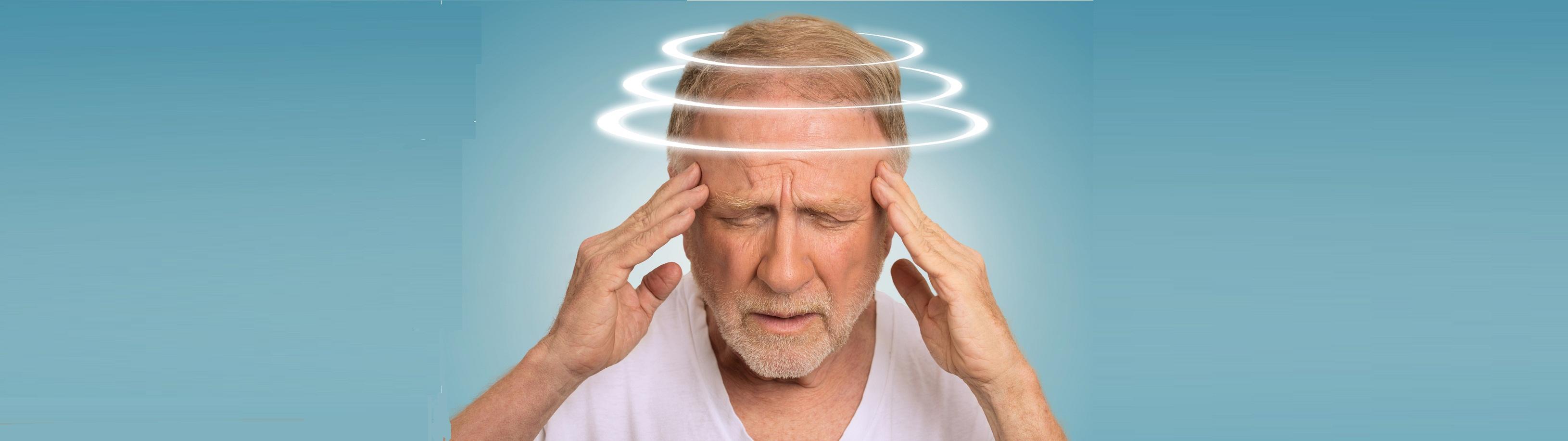 точечный массаж при головокружении