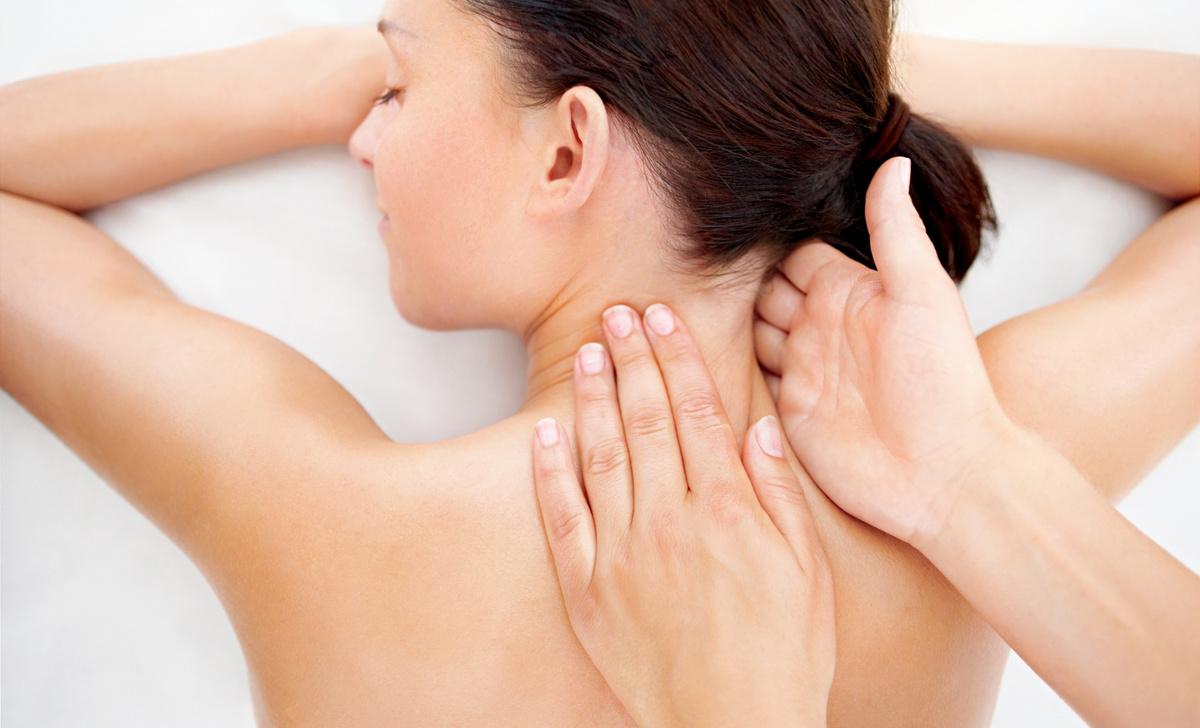 Массаж при обострении остеохондроза