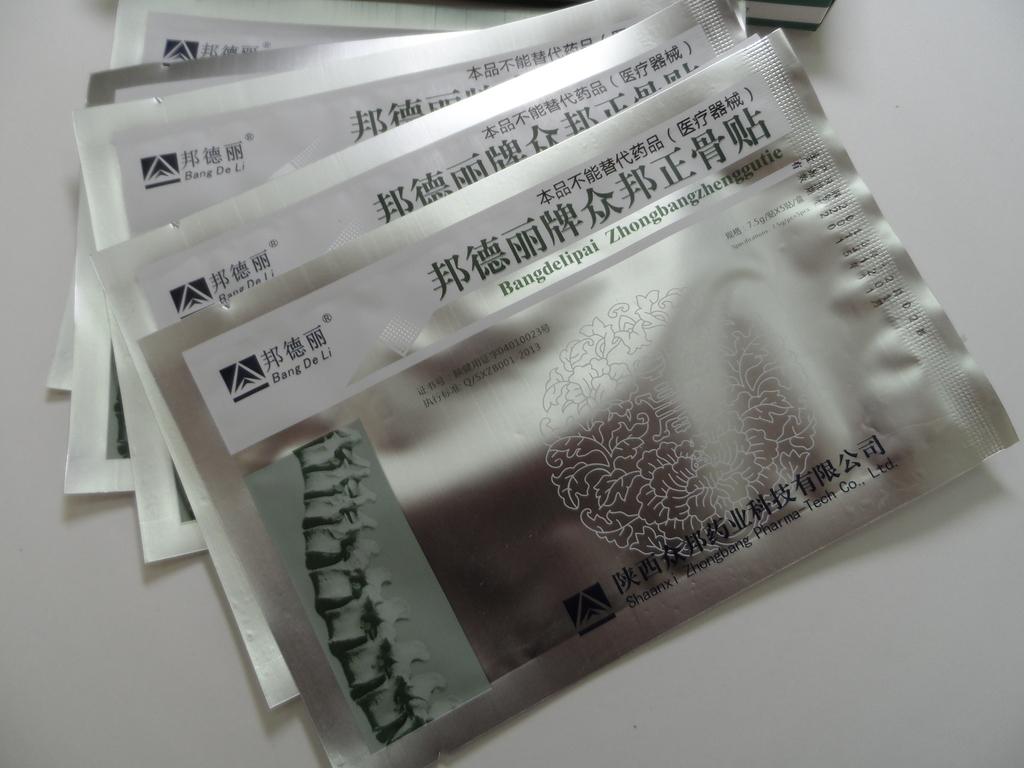 Китайские пластыри от остеохондроза - какой лучше выбрать