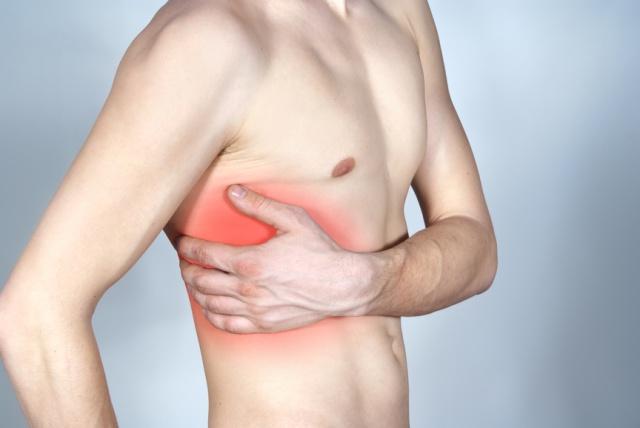 Межреберный хондроз - симптомы