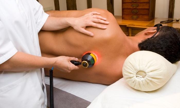 Лечение остеохондроз шейного отдела лазером -