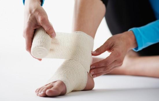 7 процедур для реабилитации при растяжение голеностопа