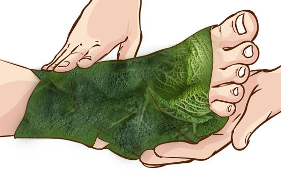 Как разработать ногу после растяжения связок голеностопа