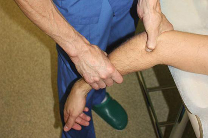 Разработка локтевого сустава после перелома упражнения